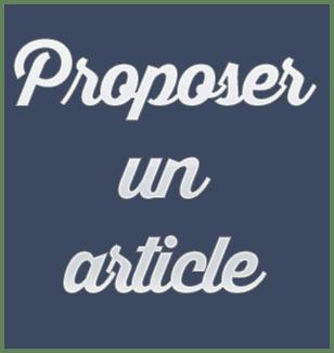 Proposer un article